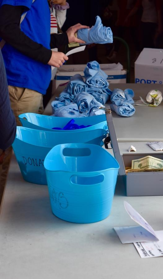 Students purchase Wish Kits to support the Make-A-Wish Foundation during lunch, Wed. Feb. 15.  Pic: Christian Liley