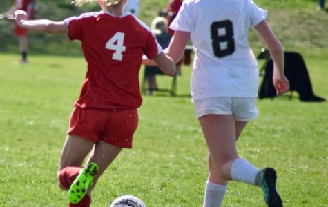 Girls C-Level Soccer Team Makes a Second Half Comeback Against Regis