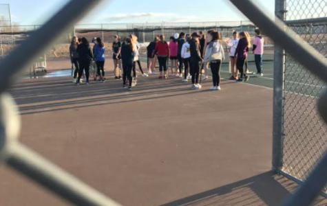 Tennis Tryouts