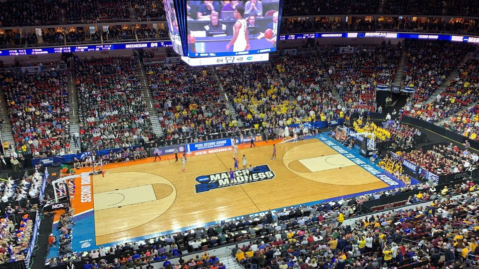 The Michigan Wolverines wins their game against the Florida Gators March 23. In the Second Round of March Madness, Michigan progressed after winning 64-49.