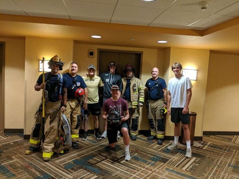Unexpected Elevator Experience Bonds Baseball Players