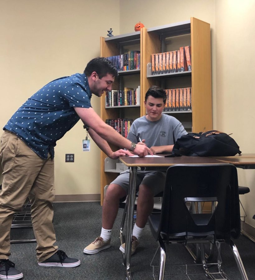Feature Teacher Friday: English Teacher Pete DeFilippo