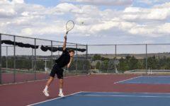 Boys Varsity Tennis Creates a Racket on the Court