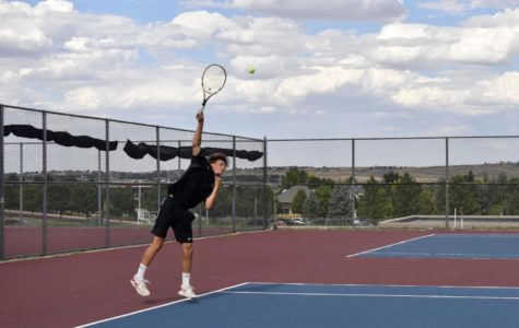 Boys Varsity Tennis Creates a Racket on the Court