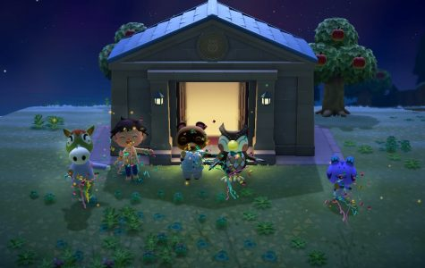 A screenshot of Nintendo's new game for Switch, Animal Crossing.