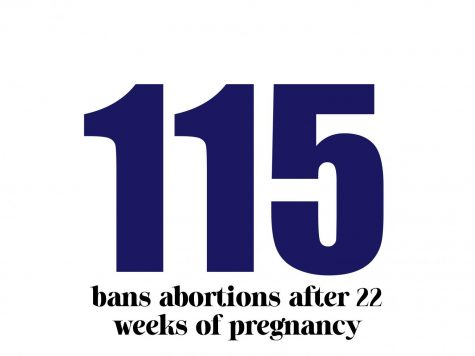 Proposition 115 bans abortions after 22 weeks of pregnancy.