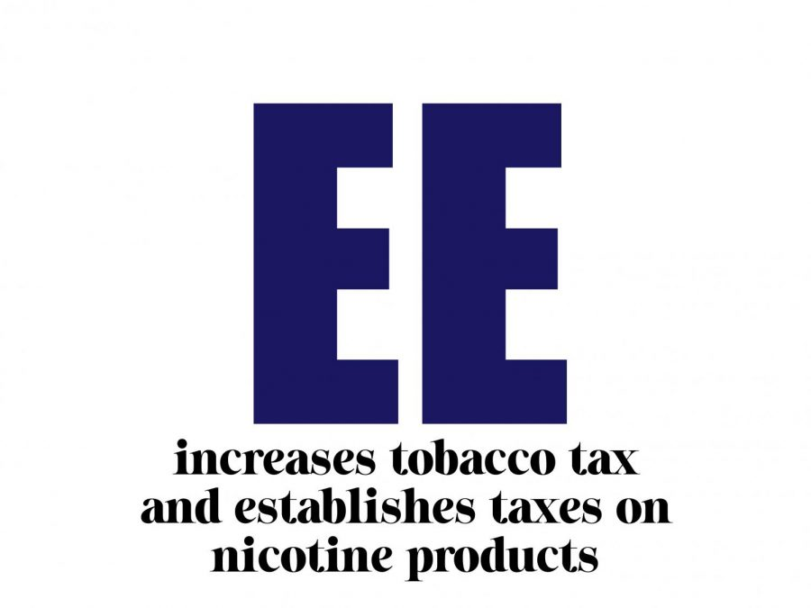 Proposition+EE+increases+tobacco+tax+and+establishes+taxes+on+nicotine+products.