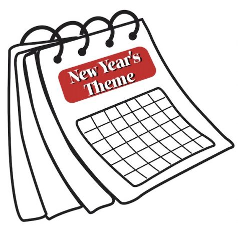 A new approach to the new year: Setting a New Years theme