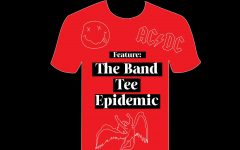Band tee epidemic cover image, featuring Nirvana, Led Zeppelin, and AC/DC.